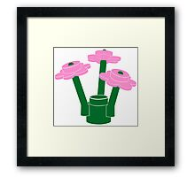 Pink bouquet Framed Print