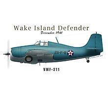 Wake Island Defender Photographic Print