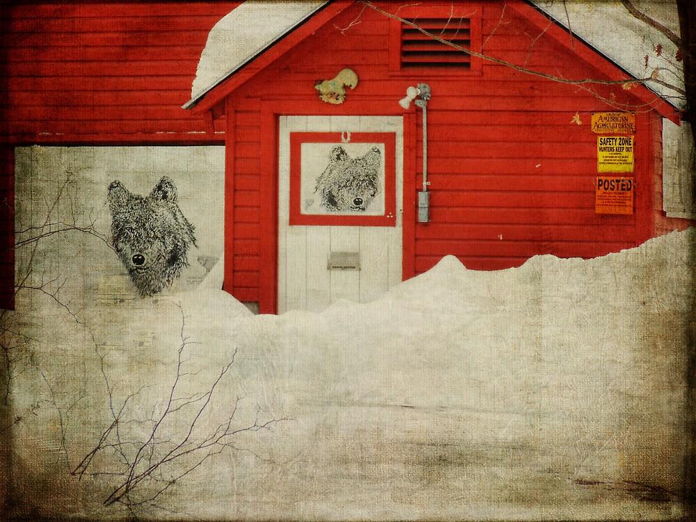 Wolf Barn by PineSinger
