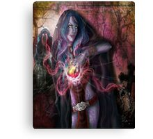 The Wrath of the Warlock Canvas Print
