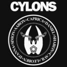 CYLONS (white - low detail) by cubik