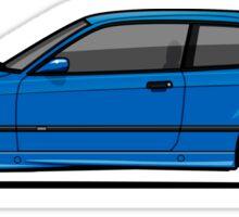 BMW 3 Series E36 M3 Coupe Estoril Blue Sticker