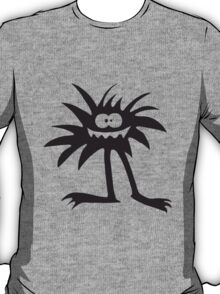 Hairy funny crazy Monster T-Shirt