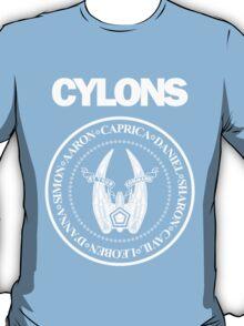 CYLONS (white - hi detail) T-Shirt