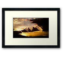 ©TSS The Sun Series XXIcs Framed Print