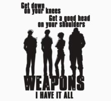 Black Lagoon - Weapons? I have it all by Zisco