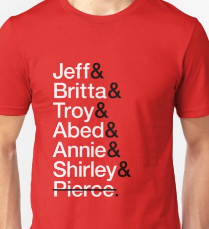 Community Character List Unisex T-Shirt