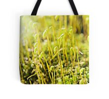 The Macro Forest Tote Bag
