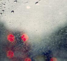 Rain Polaroïd Sticker