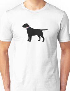 Black Lab Preppy Silhouette Unisex T-Shirt