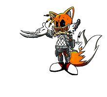 Tails the Predator by LittleRedHeidi