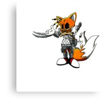 Tails the Predator Canvas Print