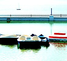 The Boating Pool on the Royal Esplanade in Ramsgate  by PictureNZ