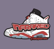 Infrared 6's White Kids Clothes
