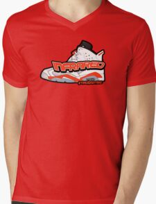 Infrared 6's White Mens V-Neck T-Shirt
