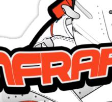Infrared 6's White Sticker