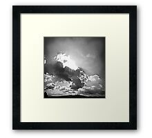 ©TSS The Sun Series XXII Wind Raiders II Monochrome Framed Print