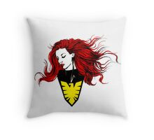 Phoenix Reverie Throw Pillow