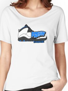 Powder Blue Fresh 10 Women's Relaxed Fit T-Shirt