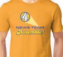 Channel 4 News Team Assemble! (ANCHORMAN) Unisex T-Shirt
