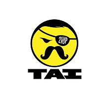 Ipod case TAI logo by Quadley