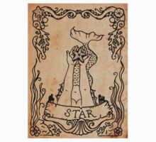 Mermaid Tarot Sticker: The Star by SophieJewel