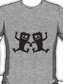 2 Party Monster team dancing hairy T-Shirt