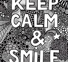 keep calm and smile no.2 by BeckaJane