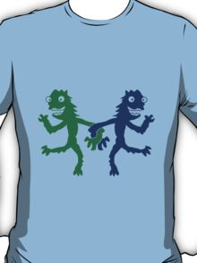 2 couple of cheerful dancing love Monster T-Shirt