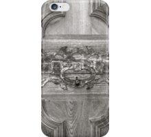 Door knocker iPhone Case/Skin