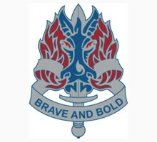 198th Infantry Brigade - DUI - Brave and Bold by VeteranGraphics