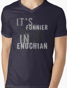 Supernatural Castiel Quote T-Shirt Mens V-Neck T-Shirt