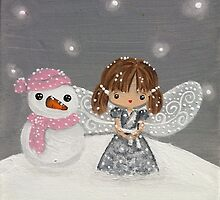 fairy in the snow by BeckaJane