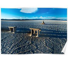 Salinas Grandes - Tables & Chairs Poster
