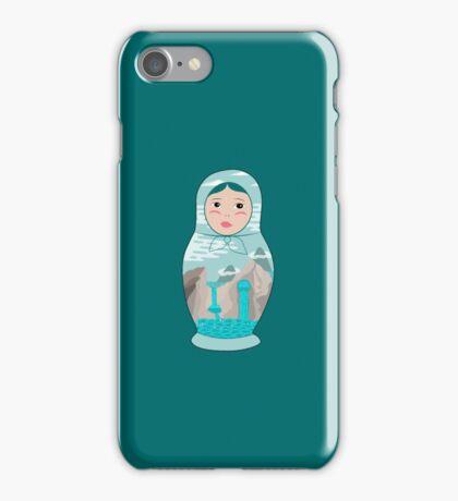 Oriental Matryoshka iPhone Case/Skin
