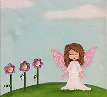 fairy with flowers by BeckaJane
