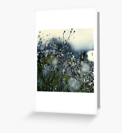 In Silence Greeting Card