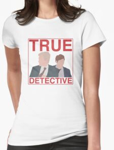 True Detective Womens Fitted T-Shirt