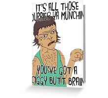 """""""DURRY MUNCHIN"""" STRAYA TRAIN STATION - DAMO & DARREN! Greeting Card"""