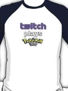 Twitch Plays Pokemon Fire Red T-Shirt