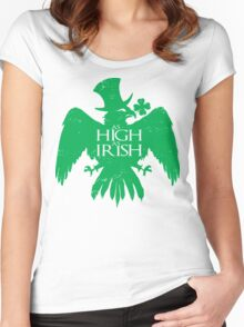 As High As Irish Women's Fitted Scoop T-Shirt