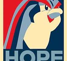 Bird Jesus: Hope by kdm1298