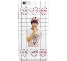 BTS - V Cute Grid iPhone Case iPhone Case/Skin