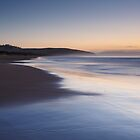 Early Morning, Calverts Beach, Tasmania #5 by Chris Cobern