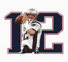 Tom Brady - Brady #12 by emrdesigns