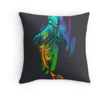 Watercolor Shark Throw Pillow