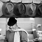 Hat Guy, Market, Melbourne, Victoria, Australia by paulsborrett