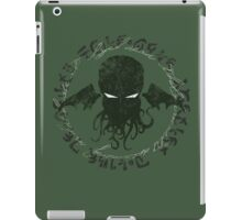 In his house at R'lyeh dead Cthulhu waits dreaming iPad Case/Skin