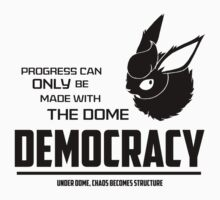 Democracy Black Text by triforce15