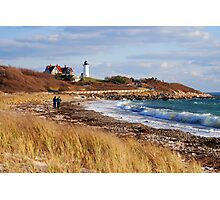 Nobska Light Falmouth (Woods Hole) Cape Cod Massachusetts Photographic Print